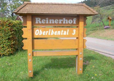 k2-4.3 Reinerhof Schild